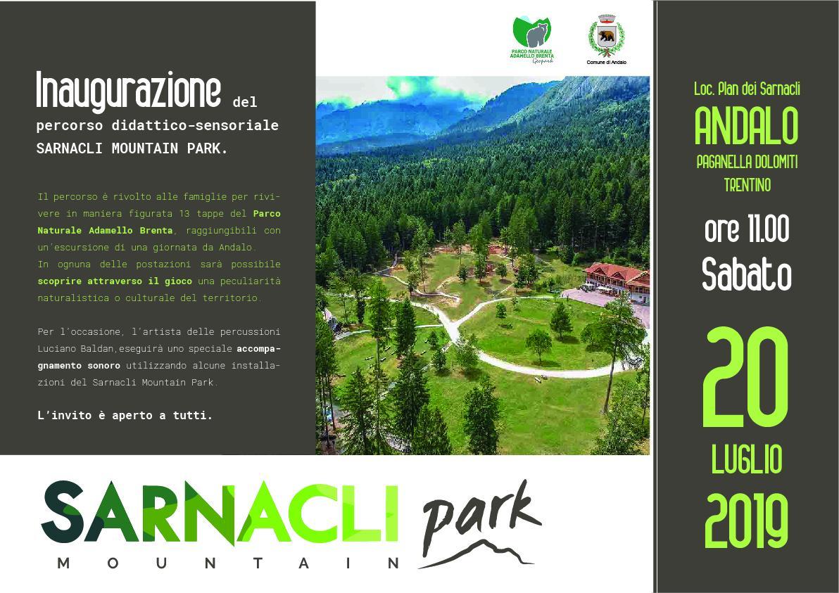 INAUGURAZIONE SARNACLI MOUNTAIN PARK