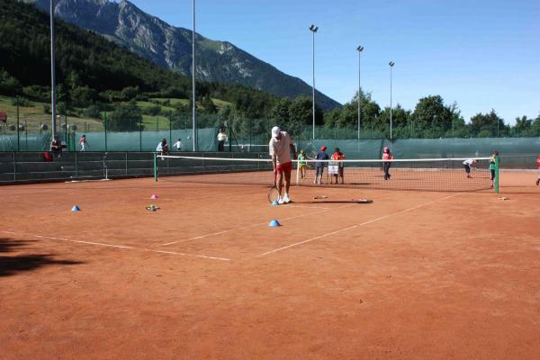 1 hour (55 minutes) RED CLAY COURT TENNIS CENTRE Andalo LIfe