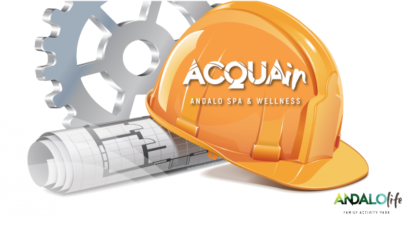 ACQUAin CLOSED FOR WORK: fun swimming pool and beauty center open on july and august. The ACQUAin reopening is expected in DECEMBER 2019 (all the areas).