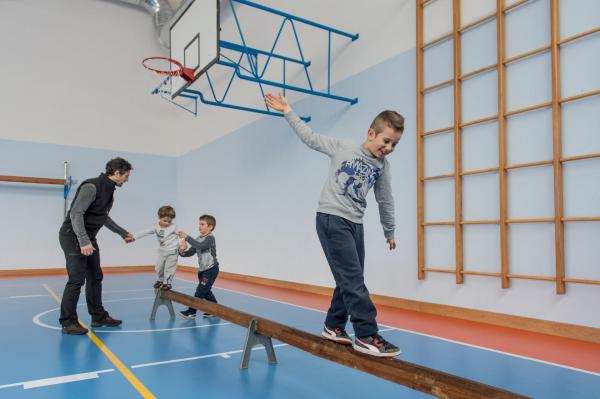 Multisports gym, a place for many sporting activities