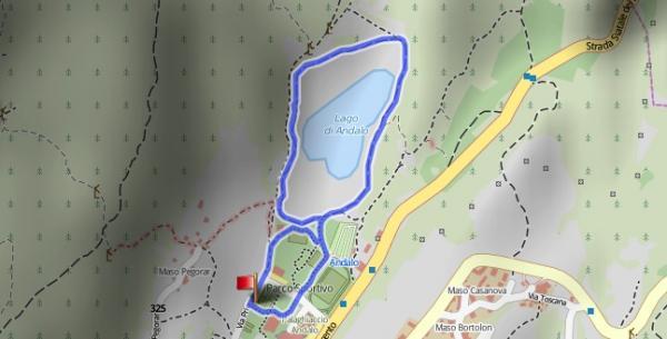 6. Rientro alternativo Giro Lago di Andalo 2