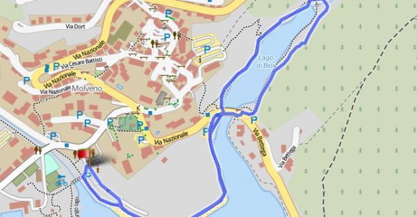 7. Lago di Bior e rive Lago di Molveno