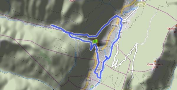 8. e 8b. Passeggiata Molveno - Baita Ciclamino