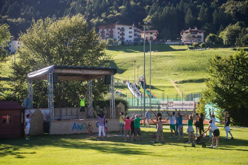 animazione e attività settimanali ad Andalo parco Life Dolomiti Paganella
