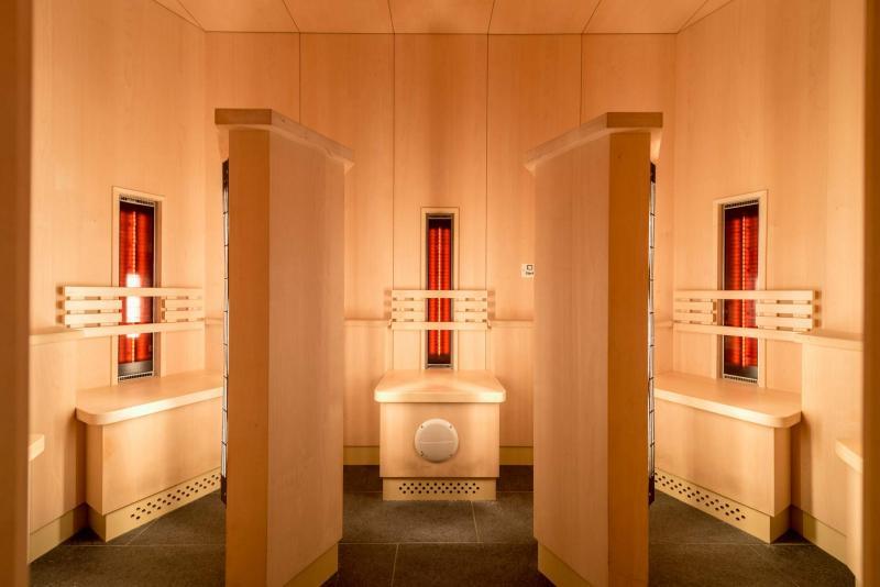 cabina infrarossi centro benessere spa Andalo Life parco Acquain Trentino Alto Adige Paganella Dolomiti Spa Wellness