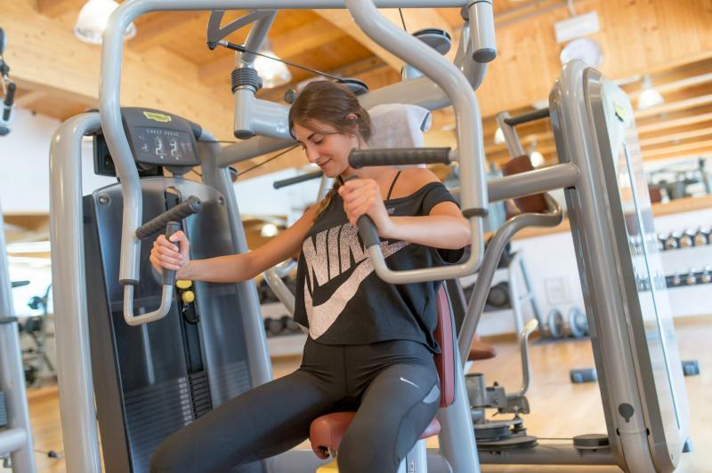 centro fitness e palestra Andalo Life parco Acquain Trentino Paganella Dolomiti