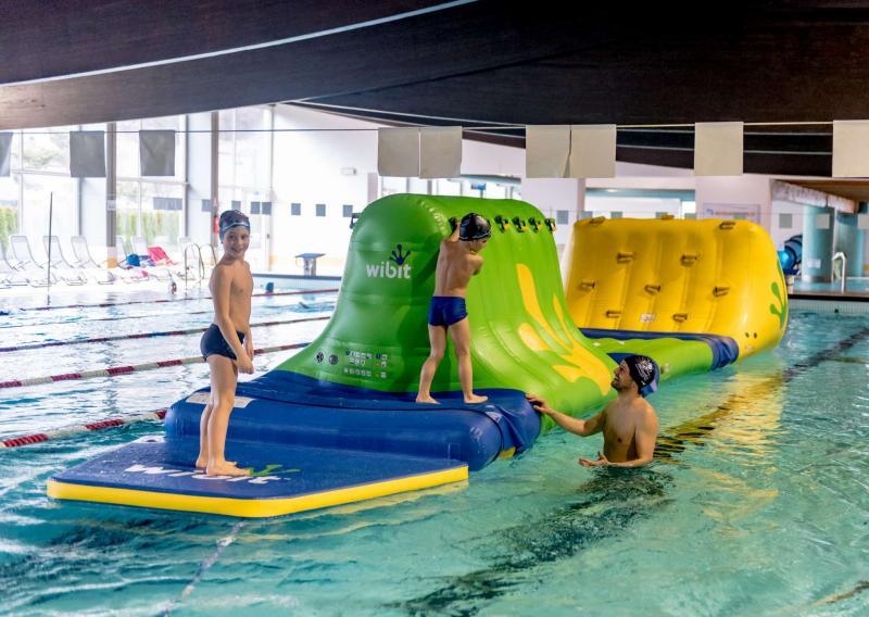centro acquatico Andalo Life Parco Acquain in Trentino sulle Dolomiti Paganella ideale per le vacanze in Trentino in famiglia