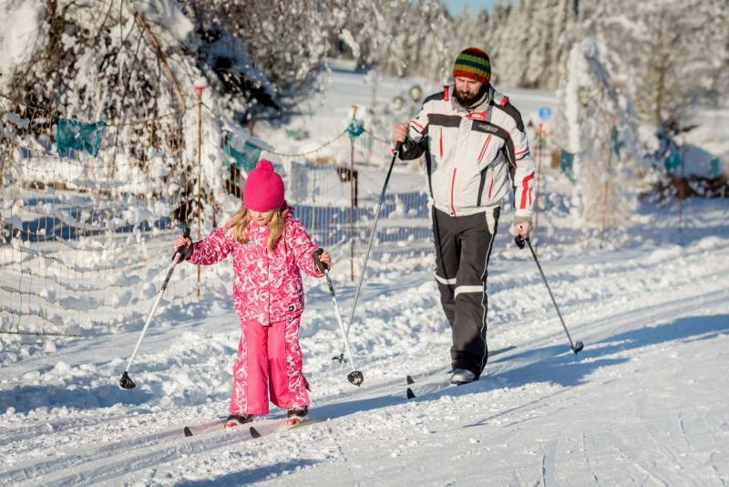 centro di fondo Andalo montagna neve winter inverno sci ski fondo nordico nordic family parco Life Family Activity Park Dolomiti Paganella Trentino