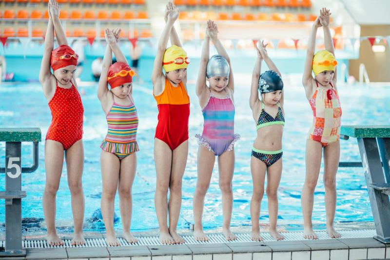 Swimming lessons for children 3-6 years old