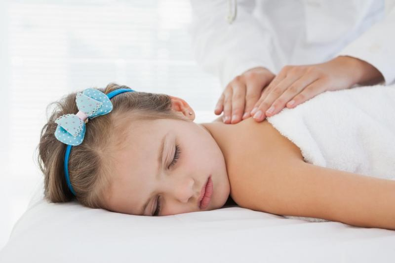 Baby massage? Fate rilassare il vostro bambino