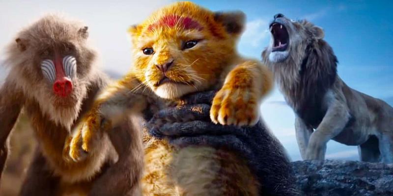 Il re leone USCITA NAZIONALE COPIA