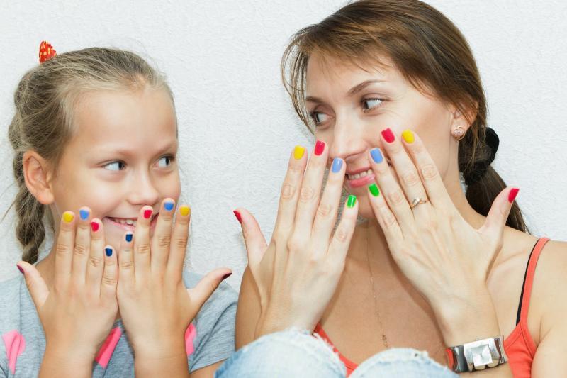Manicure e pedicure per bambini
