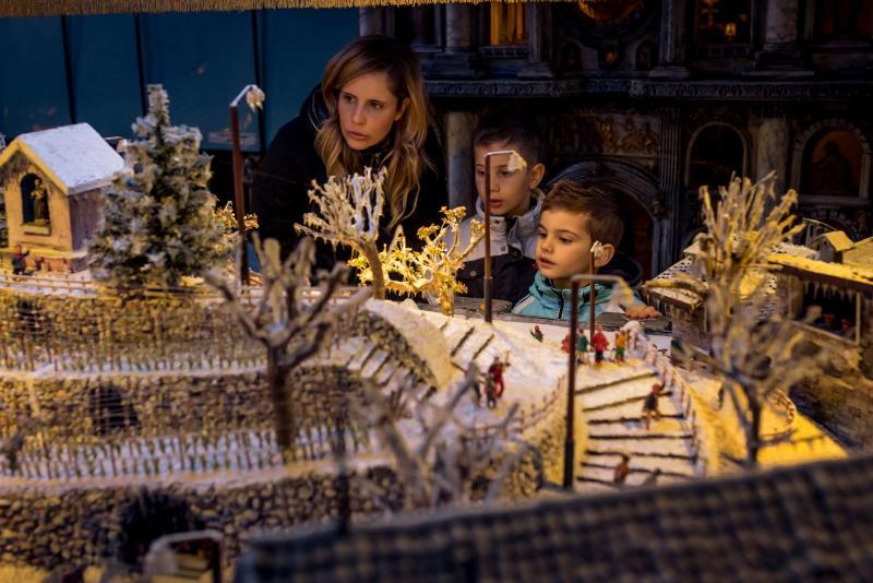 mostra miniature Andalo bambini divertimento presepi Life Family Activity Park Dolomiti Paganella Trentino