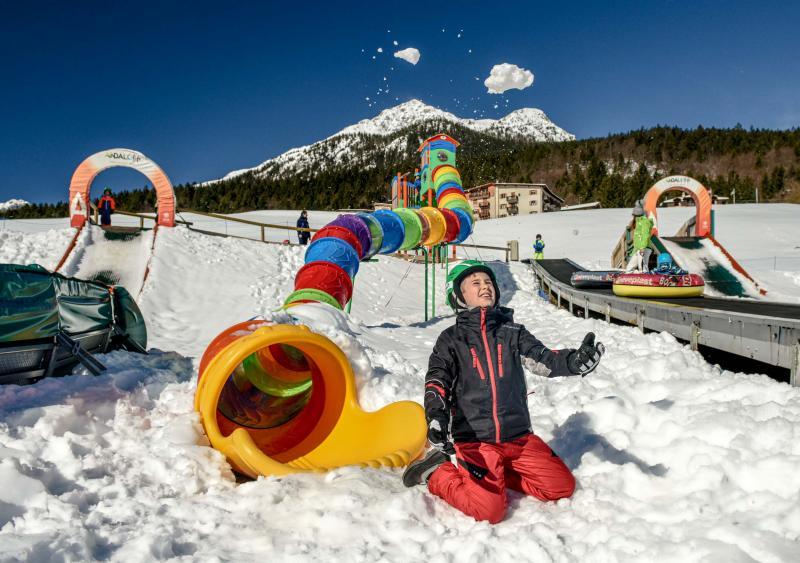 Parco gommoni e scivoli Winter Park