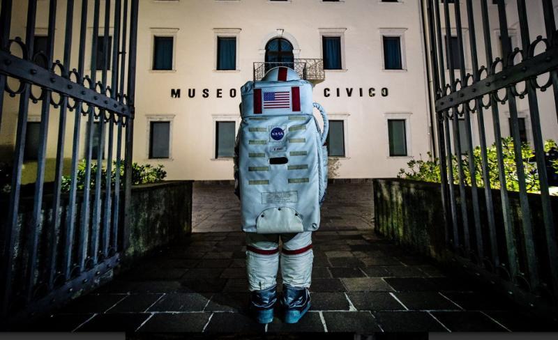 VISITA GUIDATA ALLA MOSTRA 'LA LUNA. E POI?' Museo Civico di Rovereto settimana PORTAMI SULLA LUNA 15-19/7