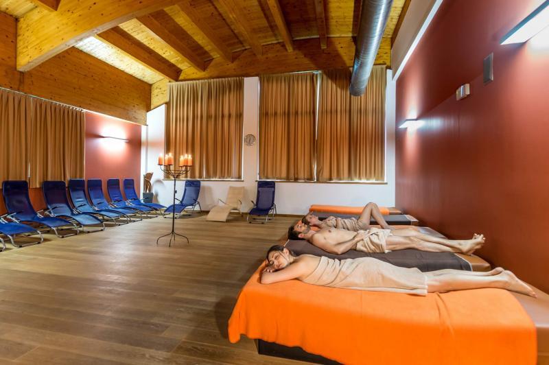 sala relax centro benessere spa Andalo Life Park Acquain Dolomiti Paganella in Trentino
