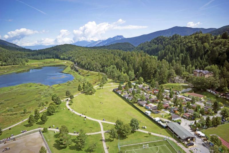 servizi campeggio in montagna in Trentino ad Andalo sulle Dolomiti Paganella