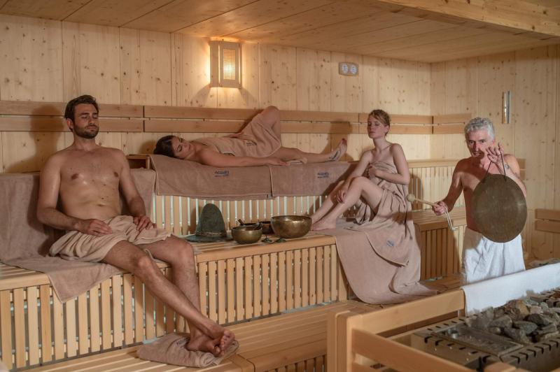 Come funzionano le saune di Andalo Wellness? Proprio come in Finlandia!