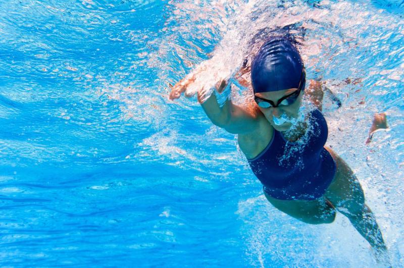 Vasca sportiva nuoto Andalo Acquain Dolomiti Paganella in Trentino